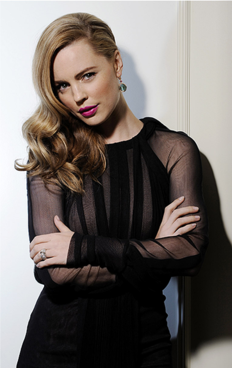 Actress Melissa George