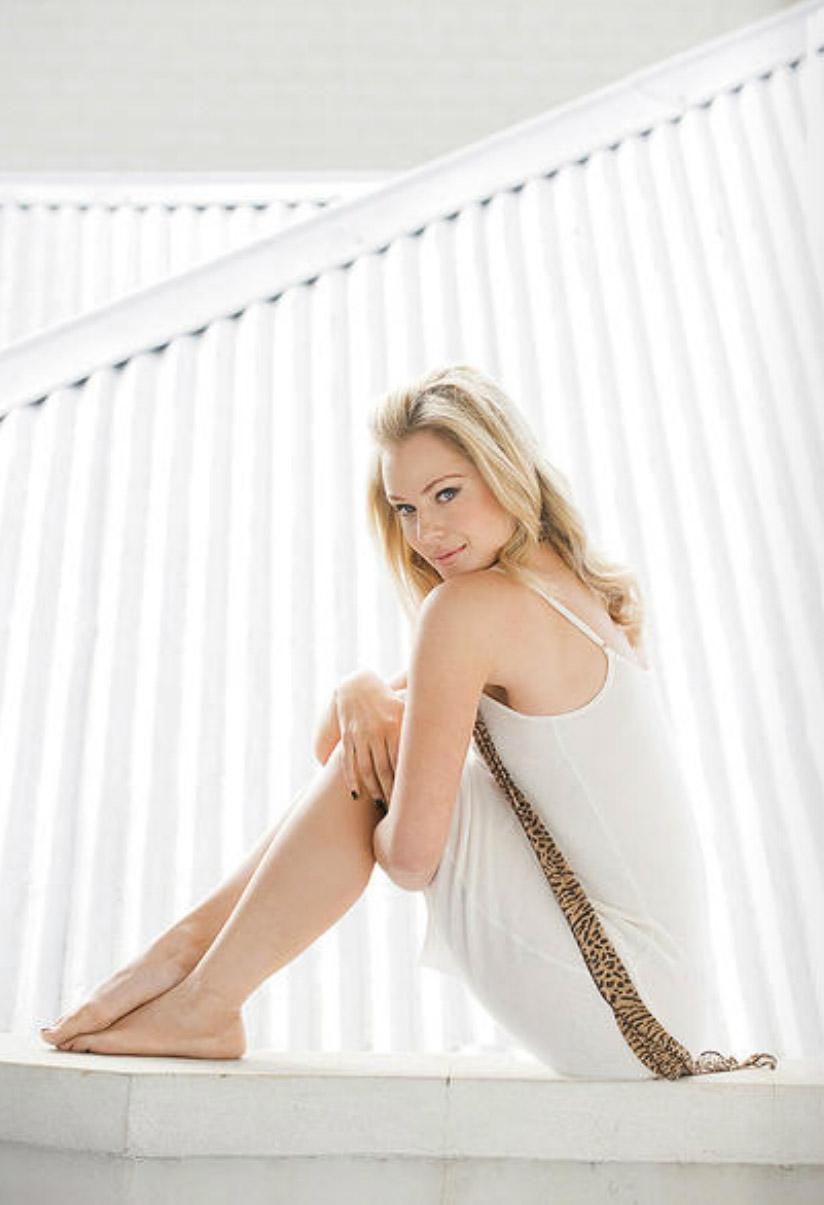 Actress Jessica Marais