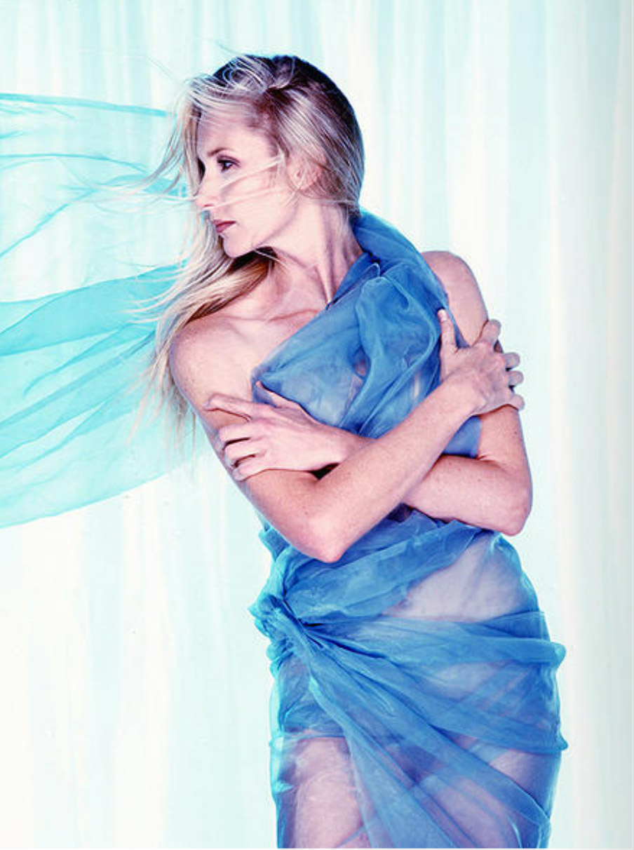 Wrapped in Blue